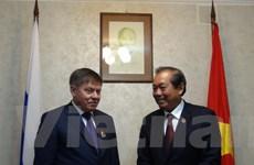 Việt Nam và Liên bang Nga tăng hợp tác trong lĩnh vực tòa án
