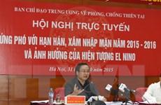 Phó Thủ tướng: Cần chủ động nguồn ngân sách ứng phó với hạn hán
