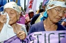 Hàn Quốc và Nhật Bản đẩy nhanh giải quyết vấn đề phụ nữ mua vui