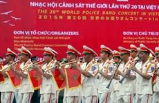 Buổi hòa nhạc ấn tượng bế mạc Đại nhạc hội Cảnh sát thế giới