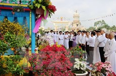 Chủ tịch MTTQ gửi thư chúc mừng 90 năm Đại lễ khai đạo Cao Đài
