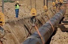 Sắp khởi công dự án đường ống khí đốt xuyên quốc gia TAP