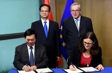 Mở ra kỷ nguyên mới trong quan hệ hợp tác giữa Việt Nam và EU