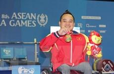 ASEAN Para Games 8: Đoàn Việt Nam vươn lên vị trí thứ ba
