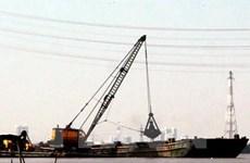 Sắp thông luồng kỹ thuật cho tàu trọng tải lớn vào sông Hậu