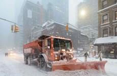 Mỹ: Nhiều thành phố miền Đông Bắc vẫn tê liệt dù bão tuyết tan