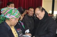 Phó Thủ tướng thị sát khắc phục hậu quả rét hại tại Sa Pa