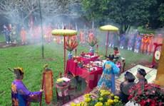Tái hiện lễ dựng cây Nêu ngày Tết tại khu di tích cố đô Huế