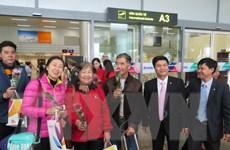 """Đón những vị khách quốc tế đầu tiên """"xông đất"""" thành phố Đà Nẵng"""