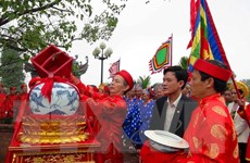 Lễ hội đền Trần Nam Định: Phục dựng nghi lễ Rước kiệu Ngọc Lộ