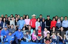 Sôi nổi các hoạt động Ngày đại gia đình ASEAN 2016 tại Mexico