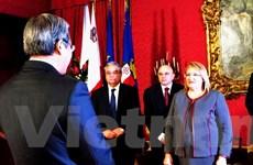 Malta muốn tăng hợp tác với Việt Nam trên nhiều lĩnh vực