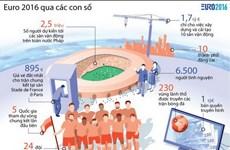 [Infographics] Giải đấu Euro 2016 qua những con số thú vị