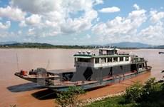 Mực nước trên sông Mekong tại Lào đang tăng dần trở lại