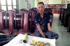 Quảng Ninh bắt đối tượng vận chuyển ma túy bằng bình gas mini