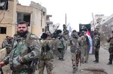 Quân Syria thắng lớn ở thành phố chiến lược Qaryatain
