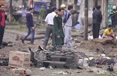 [Video] Vật liệu nổ quân dụng gây vụ nổ kinh hoàng tại Hà Đông