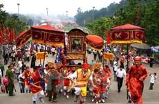 Lễ rước kiệu về Đền Hùng - nét đẹp văn hóa truyền thống Việt