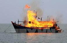Indonesia tiếp tục cứng rắn đối với các tàu cá vi phạm lãnh hải
