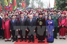Sự kiện trong nước tuần 11-17/4: Tưng bừng lễ hội Giỗ Tổ Hùng Vương