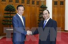 Thủ tướng Nguyễn Xuân Phúc tiếp Bí thư Tỉnh ủy tỉnh Quý Châu
