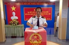 Tổ chức bầu cử sớm cho công nhân, kỹ sư trên tàu, giàn khoan
