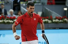Novak Djokovic đối đầu Andy Murray ở chung kết Madrid Open