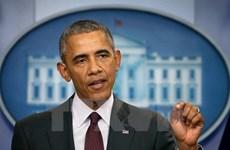 Họp báo quốc tế về chuyến thăm Việt Nam của Tổng thống Hoa Kỳ