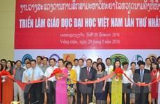 Triển lãm giáo dục đại học Việt Nam lần đầu tiên tại Lào