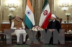 Lãnh đạo Ấn Độ và Iran cam kết tăng cường quan hệ đối tác