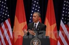 Tổng thống Obama: Ưu tiên quan hệ đối tác toàn diện với Việt Nam