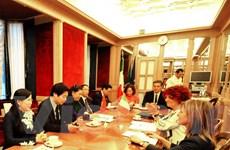 Việt Nam-Italy tăng cường hợp tác Nghị viện hướng tới tương lai