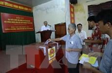 Thanh Hóa công bố danh sách trúng cử đại biểu QH và HĐND tỉnh