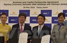 ANA Holdings ký kết mua gần 8,8% cổ phần của Vietnam Airlines