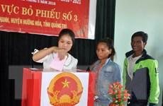 Quảng Trị công bố danh sách 50 đại biểu Hội đồng nhân dân tỉnh