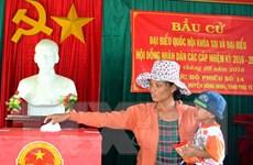 Phú Yên bầu đủ số lượng đại biểu QH và Hội đồng Nhân dân tỉnh
