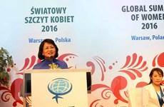 Kết thúc Hội nghị Thượng đỉnh Phụ nữ Toàn cầu lần thứ 26