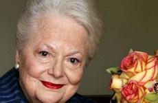 """Ngôi sao phim """"Cuốn theo chiều gió"""" mừng sinh nhật 100 tuổi"""