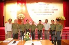 Lực lượng an ninh góp phần đắc lực vào sự phát triển đất nước