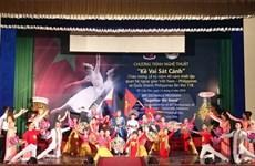 Míttinh kỷ niệm 40 năm quan hệ ngoại giao Việt Nam-Philippines