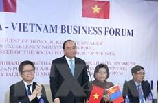 Thủ tướng tiếp Chủ tịch Hội hữu nghị Mông Cổ-Việt Nam