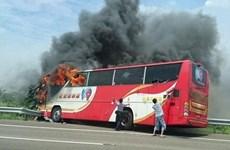 Đài Loan cấm lưu thông nhiều xe khách sau vụ hỏa hoạn thảm khốc