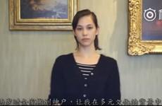Tranh cãi quanh đoạn video nữ diễn viên Nhật xin lỗi Trung Quốc