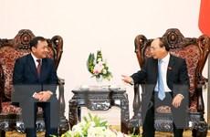 Thủ tướng Nguyễn Xuân Phúc tiếp Đại sứ Campuchia chào từ biệt