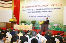 Nâng cao hiệu quả công tác đối ngoại và hội nhập quốc tế