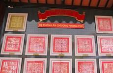 Khai mạc triển lãm Di sản lịch sử thế giới Châu bản, Mộc bản