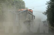Phú Thọ: Dân bức xúc không cho xe tải lưu thông vì gây ô nhiễm