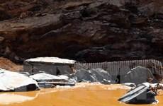 [Photo] Tan hoang sau vụ vỡ đường ống ở thủy điện Sông Bung 2