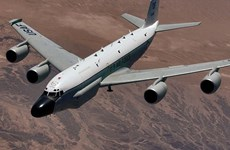 Máy bay do thám Mỹ bay gần căn cứ không quân Nga ở Syria