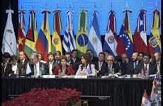 Các nước thành viên Mercosur thúc đẩy đàm phán FTA với EU